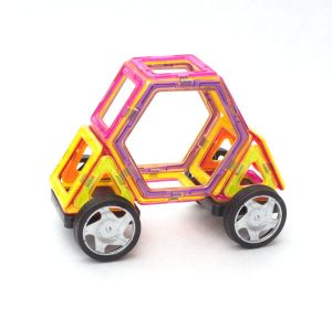 magnetic tile set Carriage