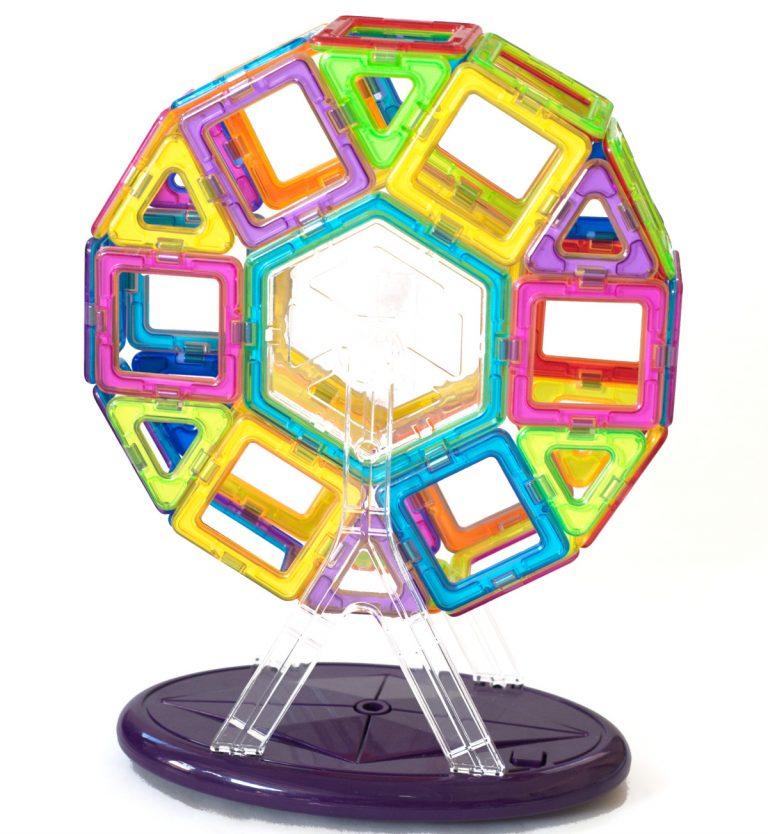magnetic tiles Ferris Wheel sq web