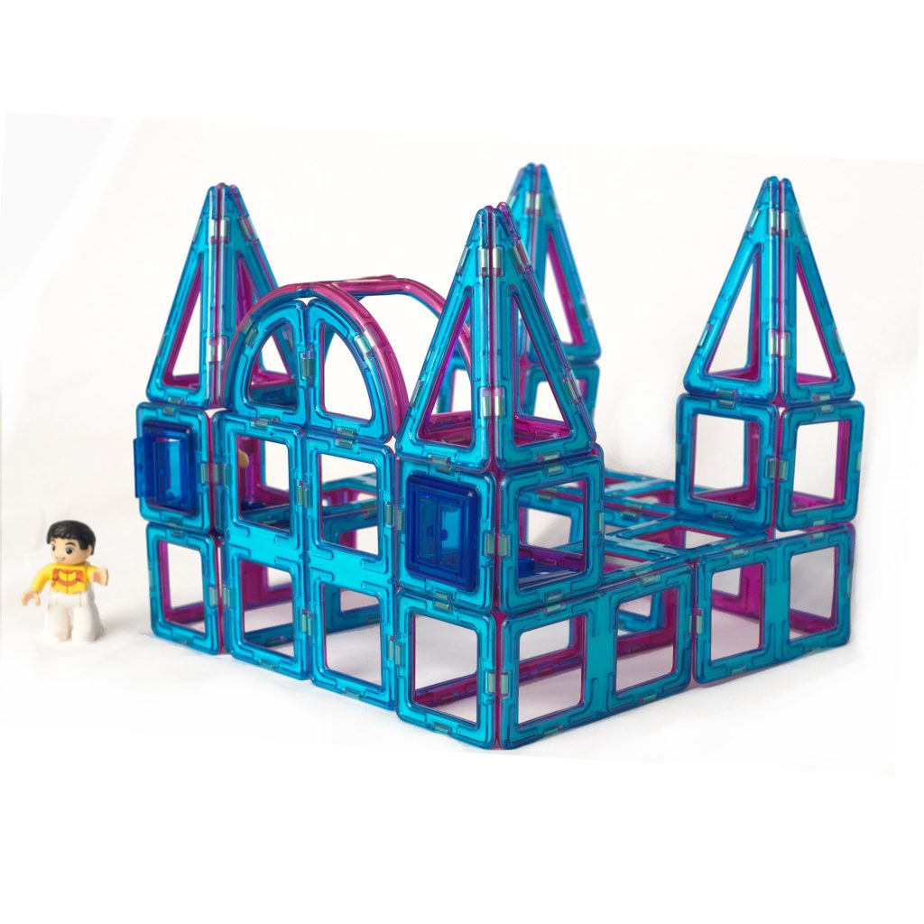 teal magnetic tile ice palace