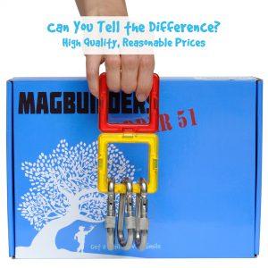 fire truck magnetic tile set magnet strength