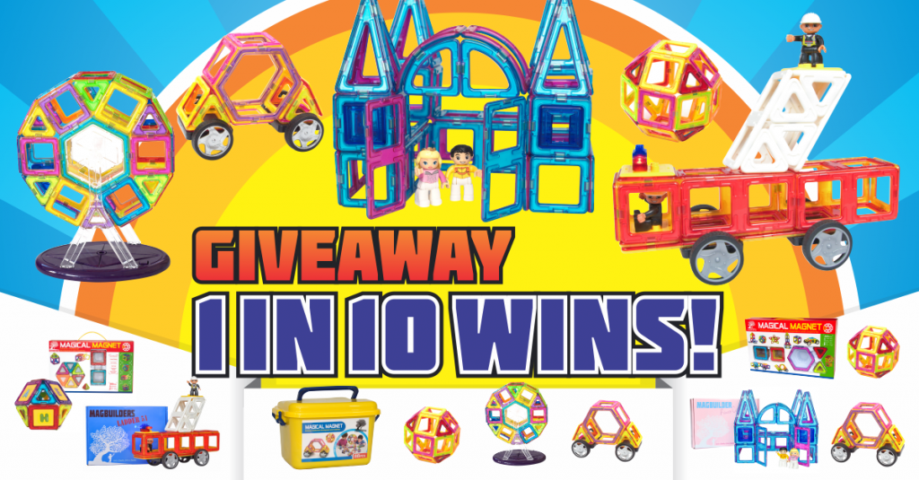 magnetic tile giveaway june