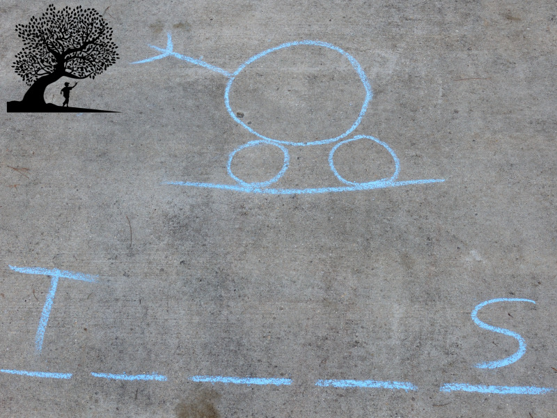 sidewalk chalk Hangman