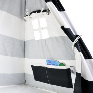 kids play tent roomy storage pockets