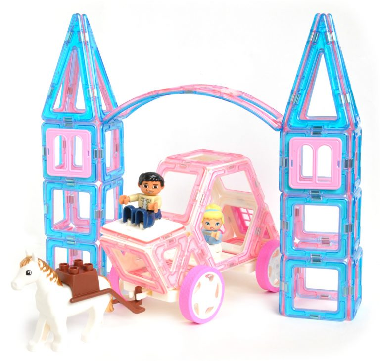 Magbuilders Royal Ball Palace Gate and Carriage