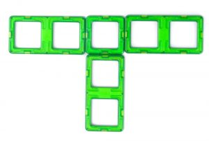 magnetic tile tractor cab