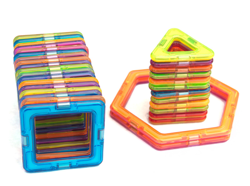 how to teach sorting with magnetic tiles