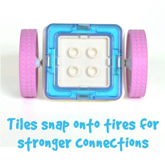stronger Magnetic tile wheels and character base