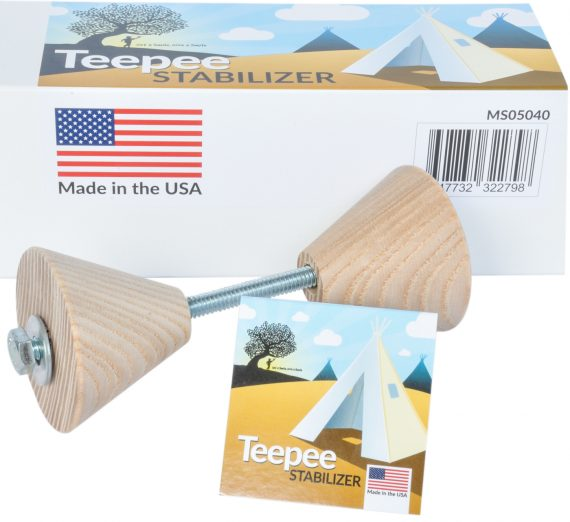 kids teepee tent stabilizer and pole spreader
