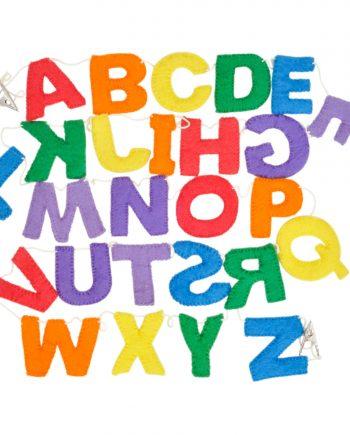 Upper Case Alphabet Garland wool felt letters