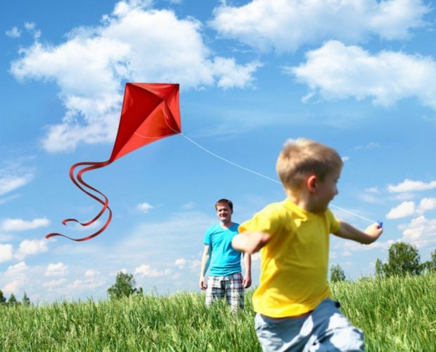 boy flying kit outdoor activities for kids