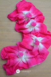 sunburst tie dye technique